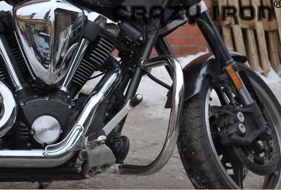 [CRAZY IRON] Дуги для Yamaha XV1700 Warrior 2002-2009