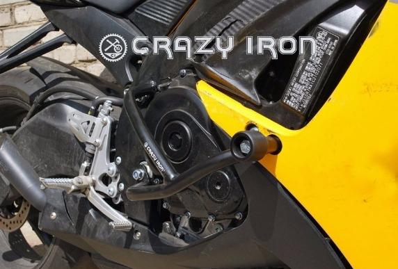 [CRAZY IRON] Дуги для Suzuki GSX-R600/750 2011-2014 + слайдеры на дуги