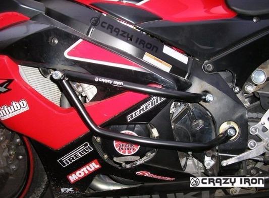 [CRAZY IRON] Дуги для Suzuki GSX-R1000 2005-2006 + слайдеры на дуги