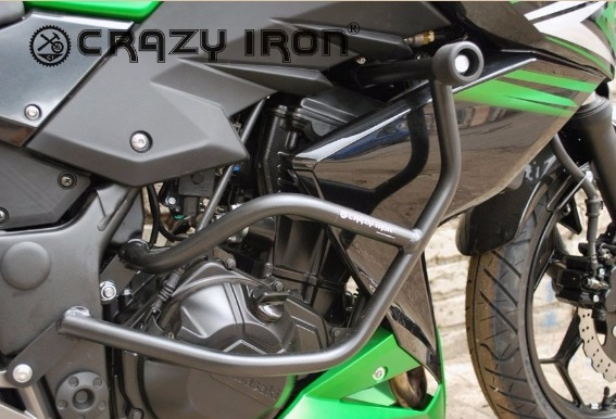 [CRAZY IRON] Дуги для Kawasaki Z250 2014-2016 + слайдеры на дуги