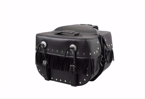 [PROUD TO RIDE] Кофры для мотоцикла SB4001S, цвет Черный